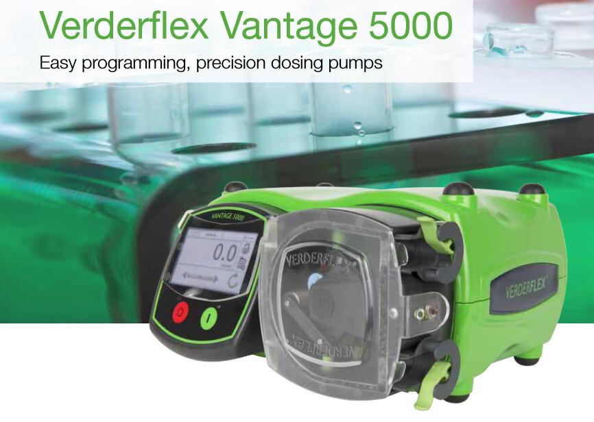 peristaltic pumps verdeflex vantage 5000
